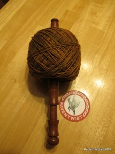 Yarn for Wavemaiden, wound and ready to go