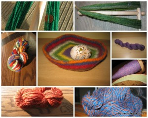 My Tour de Fleece output in 2010.