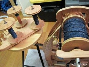 That is a pretty full bobbin going on there...