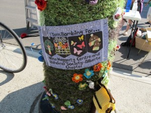Yarn Garden in support of local charities.