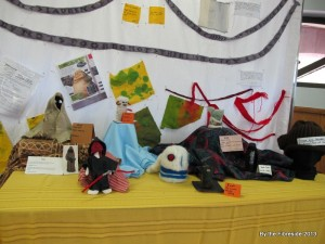 Part of the EWG Juniors group display.