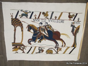 Bayeux Tapestry, finished Nov. 11, 2014.
